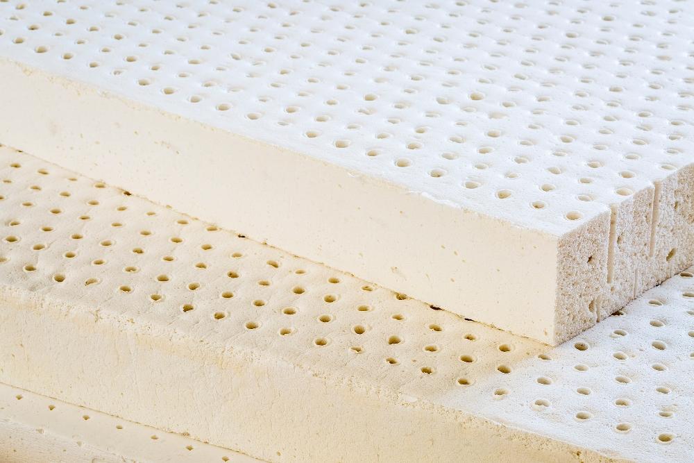 Výroba latexové pěny